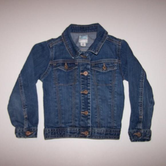 105aff03c Old Navy Jackets & Coats | Toddler Girls Stretch Denim Jean Jacket ...